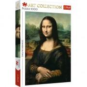 Joc Puzzle cu 1000 de piese, Mona Lisa, Trefl