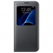 Capa com Cobertura S-View EF-CG935PB para Samsung Galaxy S7 Edge - Preto
