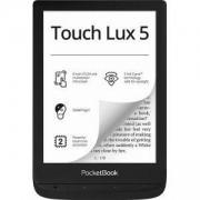 Електронен четец PocketBook e-Book Reader Touch Lux 5, 8 GB Memory, 6 инча, E-Ink Carta Display, SMARTlight, Wi-Fi, InkBlack, Черен, PB628-P-WW