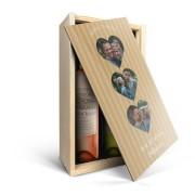 YourSurprise Wijnpakket in kist - Oude Kaap - Wit en rosé