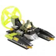 Mega Bloks Lizard Man Sewer Speeder
