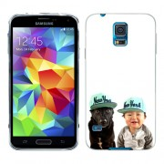 Husa Samsung Galaxy S5 G900 G901 Plus G903 Neo Silicon Gel Tpu Model Bebelus Si Caine New York
