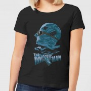 Universal Monsters Camiseta Universal Monsters El hombre invisible Illustrated - Mujer - Negro - XXL - Negro