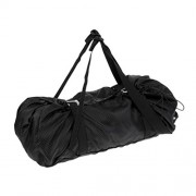 ELECTROPRIME Utility Rope Bag for Climbing Gear Kit & Ropes Clean Dry and Easy Access - L