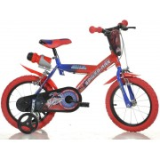 BICICLETA COPII 16'' SPIDERMAN - DINO BIKES (163G-SA)