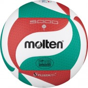 molten Volleyball V5M5000 (weiß/grün/rot) - 5