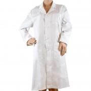 CF04 - Halat alb cu maneca lunga pentru femei si barbati