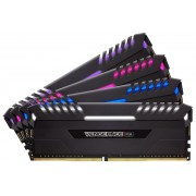 Corsair CMR64GX4M4A2666C16 VENGEANCE RGB 64GB DDR4 2666 (PC4-21300) C16 Desktop Memory