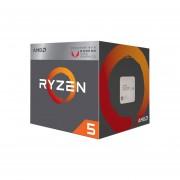 Procesador AMD Ryzen R5 2400G, 3.6 GHz (hasta 3.9 GHz) Con Gráficos Radeon Vega 11, Socket AM4, Quad-Core, 65W. YD2400C5FBBOX