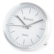 Ceas deșteptător Koopman Segnale, argintiu, 9 x 2,5 cm