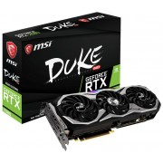 MSI nVidia GeForce RTX 2080 DUKE 8G OC 8GB GDDR6 256-bit Graphics Card