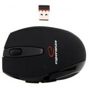 Mouse Esperanza Laserowa, Wireless (Negru)