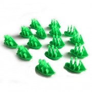 Settlers of Catan Seafarers Expansion Replacement Ship Pieces - Viking Empire - Green - Single Player Set - 15 Ships
