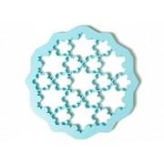 Lékué hópihe sütikiszúró forma, élénkkék színben
