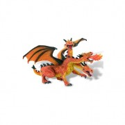 Dragon orange cu 3 capete