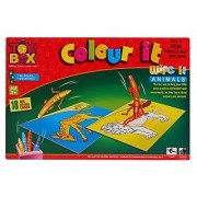 Toysbox Colour It - Wipe It ( Animals )