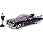 Jada Toys DC Comics Bombshells Catwoman & 1959 Cadillac Die-Cast Car, 1:24 ScaleVehicle & 2.75 Collectible Figurine