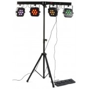Beamz 150.495 Barra Par Led 4 Vias 7x 10w Quad Dmx