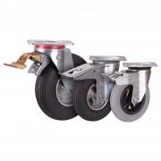 VARIOfit Bremsrolle mit Luftbereifung 230x65mm