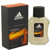 Adidas Deep Energy Eau De Toilette Spray 1.7 oz / 50.27 mL Men's Fragrances 492251