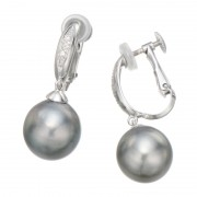 Skinシリーズ 南洋真珠 デザイン イヤリング/ピアス【QVC】40代・50代レディースファッション