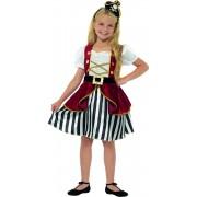 Costum Deluxe Pirat fetite 4-6 ani