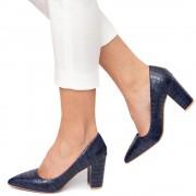 Pantofi dama Monne, Bleumarin 40