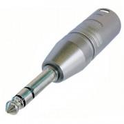 Neutrik NA3MP adapter XLR male - Jack male stereo