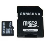 Карта памет Samsung 8GB Micro SDHC+адаптор от micro към SD
