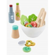 VERTBAUDET Conjunto de salada em madeira verde claro bicolor/multicolor