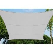 giardini del re Hdpe _white_500x500 Vela Ombreggiante Quadrata 5x5 Metri Copertura Telo Tenda Parasole Da Giardino Materiale In Hdpe 180 G/mq Colore Bianco