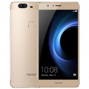 EH Huawei Honor V8 5.7 Inch 1080P Android 6.0 Dual Rear 12.0MP Camera Smartphone-Dorado