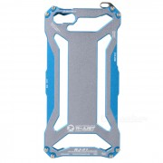 Nuevo caso cubierta de aleacion de R-solo protectora de aluminio ultra delgada para IPHONE 5 / 5S - azul + gris