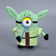 Star Wars Minion Plush Toys Yoda Darth Vader Darth Maul Storm Trooper Stuffed Plush Toy 20cm
