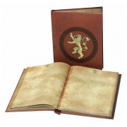 Game of Thrones Lannister notebook with light
