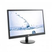 AOC LED monitor M2470SWH 23.6\ MVA FHD, 1ms, D-Sub, 2xHDMI, fekete