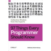 97 Things Every Programmer Should Know - Collective Wisdom from the Experts(Paperback) (9780596809485)