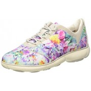 Geox D Nebula Chamarra para Mujer, Multicolor, 6 US