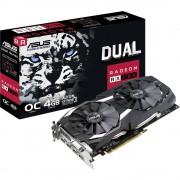 Grafička kartica Asus AMD Radeon RX 580 Dual Overclocked 4 GB GDDR5-RAM PCIe x16 HDMI™, DVI, DisplayPort