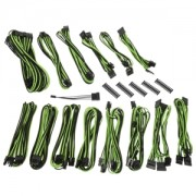 Kit cabluri modulare BitFenix Alchemy 2.0 CMR-Series Black/Green