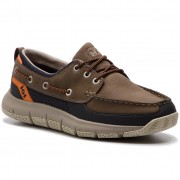 Обувки HELLY HANSEN - Newport F-1 Deck 113-14.720 Fallen Rock/Phantom/Jaffa Orange