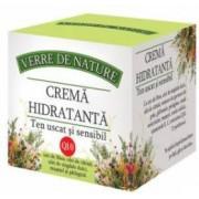 Crema Hidratanta Ten Uscat si Sensibil Manicos 50ml