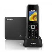 Yealink W52P telefono IP Nero Cornetta wireless LCD