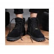 Botas de algodón de moda-fashion-cool-Hombre-negro