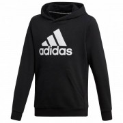 adidas - Kid's Must Have Badge Of Sport Pullover - Sweat à capuche taille 128, noir