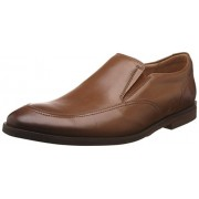 Clarks Men's Broyd Step Tan Leather Clogs and Mules - 7 UK/India (41 EU)