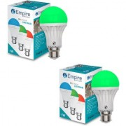 SWARA B22 5W COLOR LED BULB GREEN- PACK OF 2