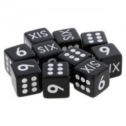 ELECTROPRIME® 10pcs Educational Number Dice Die D6 for Math Education Classroom Activities