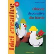 Obiecte decorative din hartie. Idei creative 28