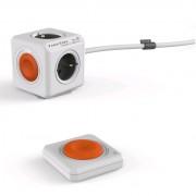 Bloc Multiprise (4 Prises) avec interrupteur et télécommande - Allocacoc
